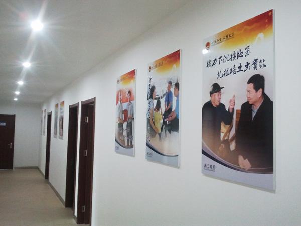 潍坊广告—高档展板 文化牌制作-潍坊不锈钢展板及牌